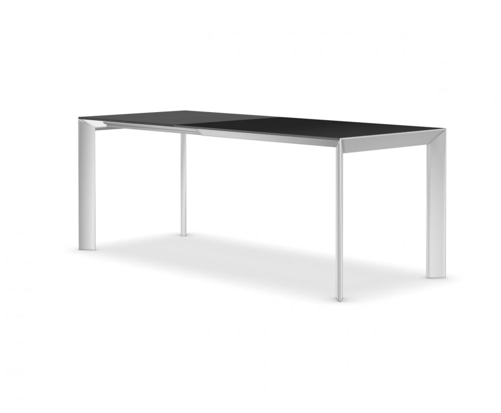 114-154-194, Anodised Aluminium, Gloss glass: Extra White, Alucompact white, Alucompact white,Kristalia,Tables & Desks,desk,furniture,outdoor table,rectangle,sofa tables,table