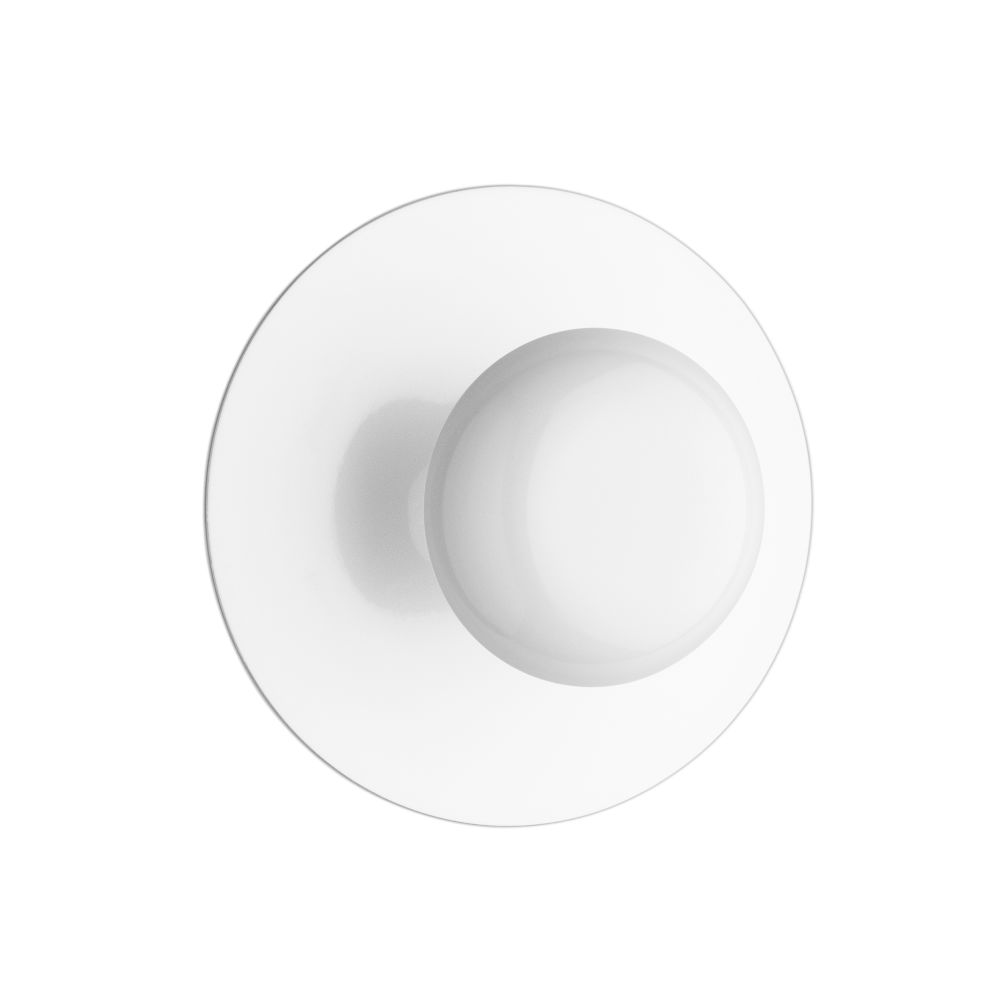Gloss White Lacquer,Vibia,Ceiling Lights,ceiling,circle,dishware,plate,tableware,white