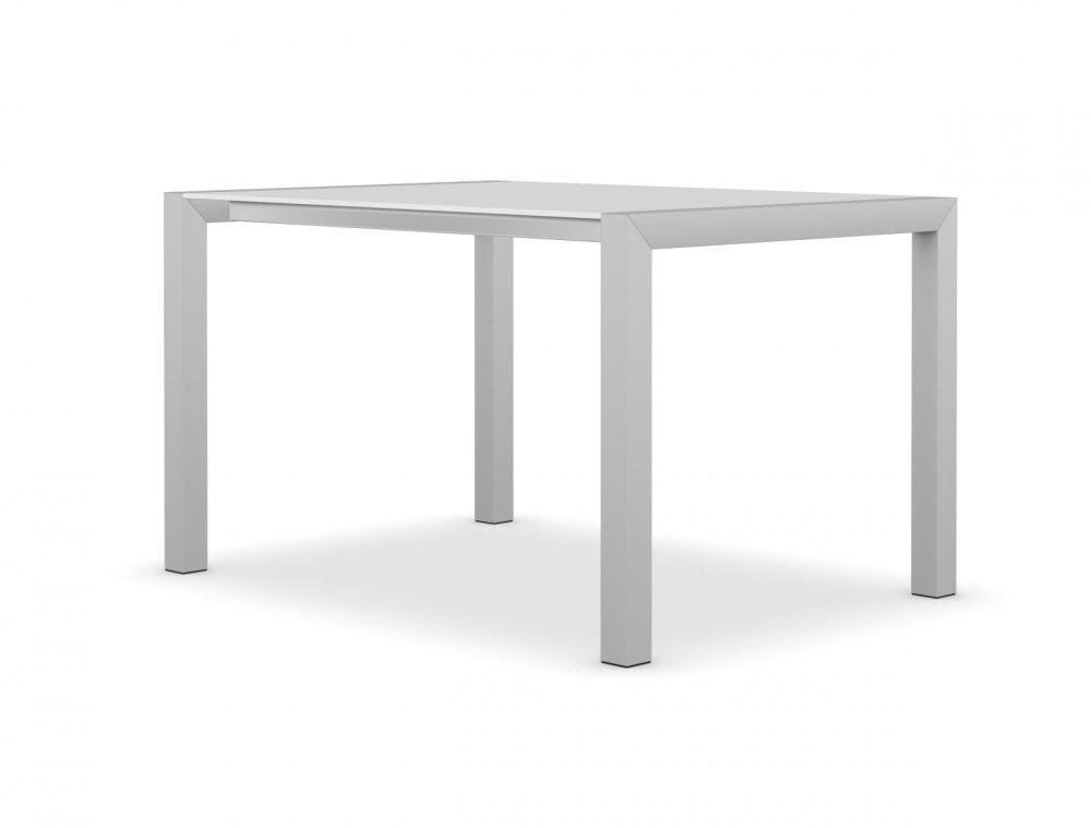 90, Anodised Aluminium, Alucompact white,Kristalia,Tables & Desks,coffee table,end table,furniture,outdoor furniture,outdoor table,rectangle,table