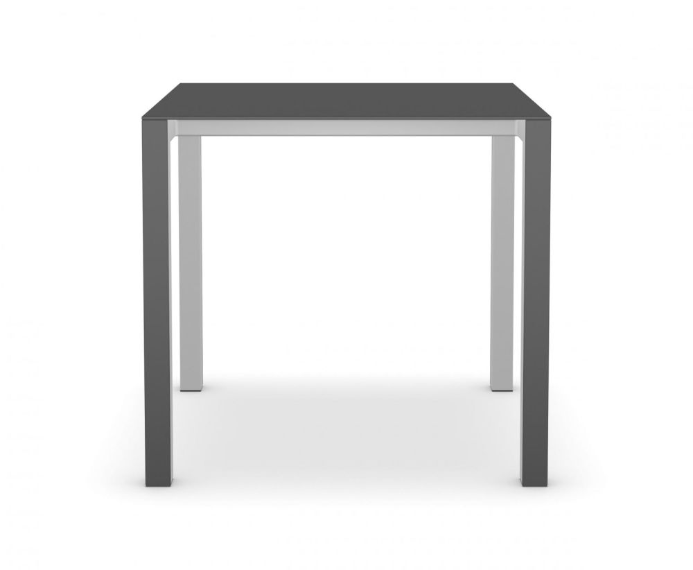 80 x 80, Aluminium Grey, Grey, Square,Kristalia,Dining Tables,desk,end table,furniture,outdoor table,rectangle,sofa tables,stool,table