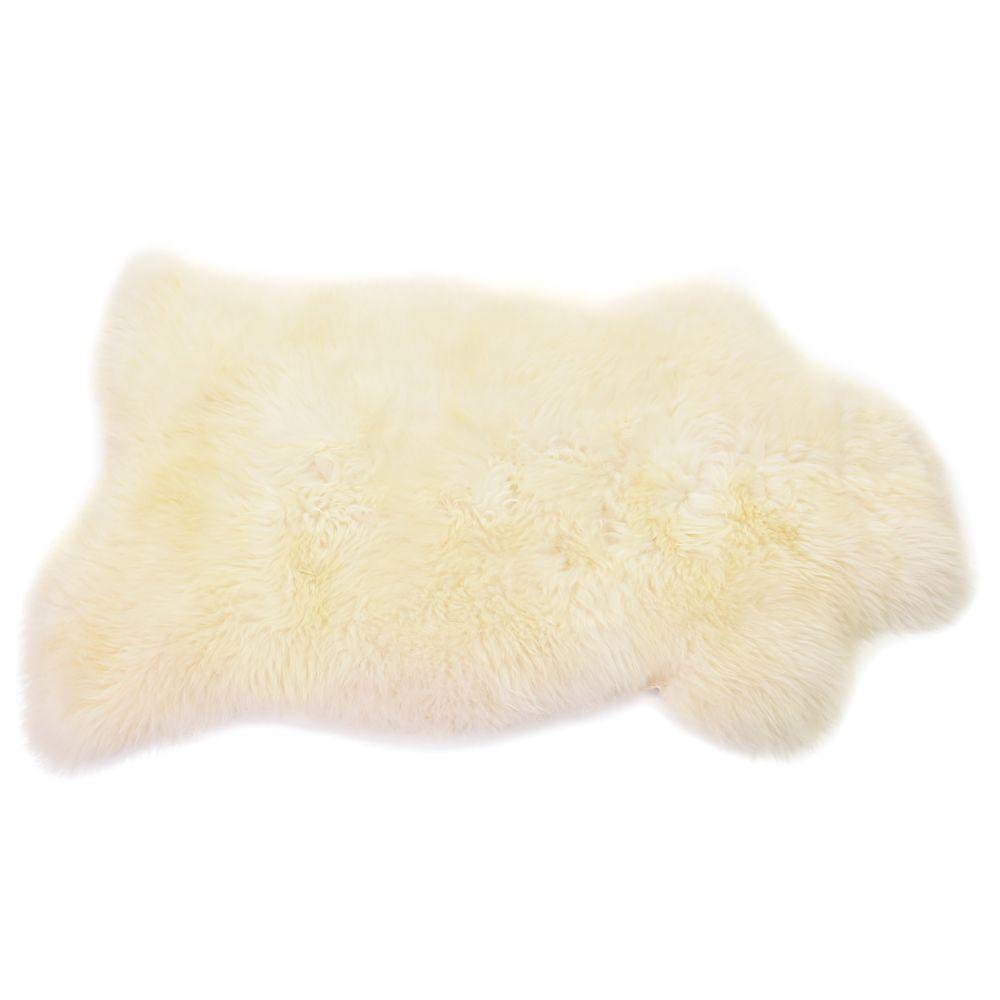 in Silver,Baa Stool,Rugs,fur,skin,yellow