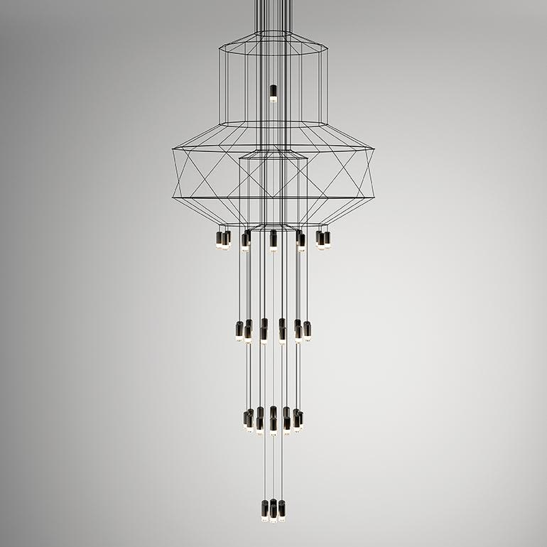 307cm,Vibia,Chandeliers,light fixture,lighting