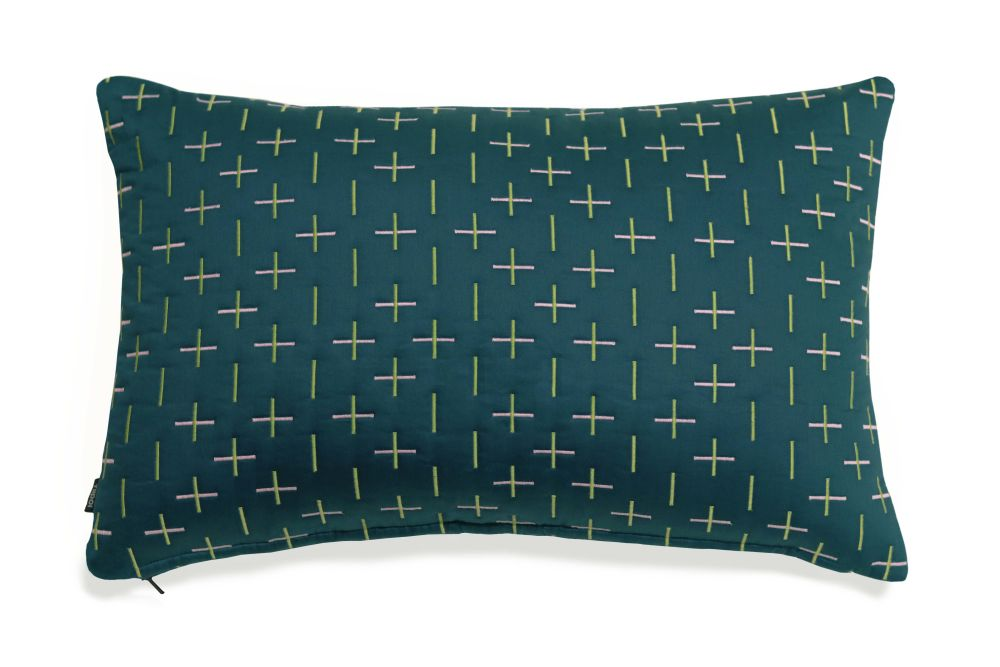 Modern Kantha Cushion by Tiipoi