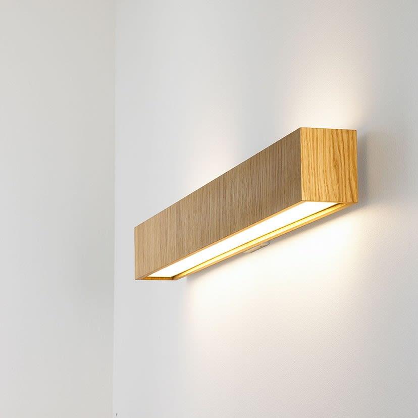 LED, Matte White,B.LUX,Wall Lights,light,light fixture,lighting,plywood,sconce,shelf,wall,wood