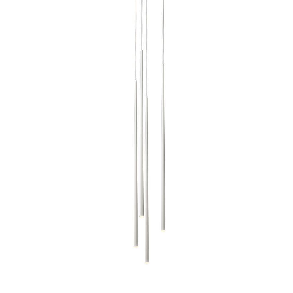 White lacquer fiber,Vibia,Pendant Lights,light fixture