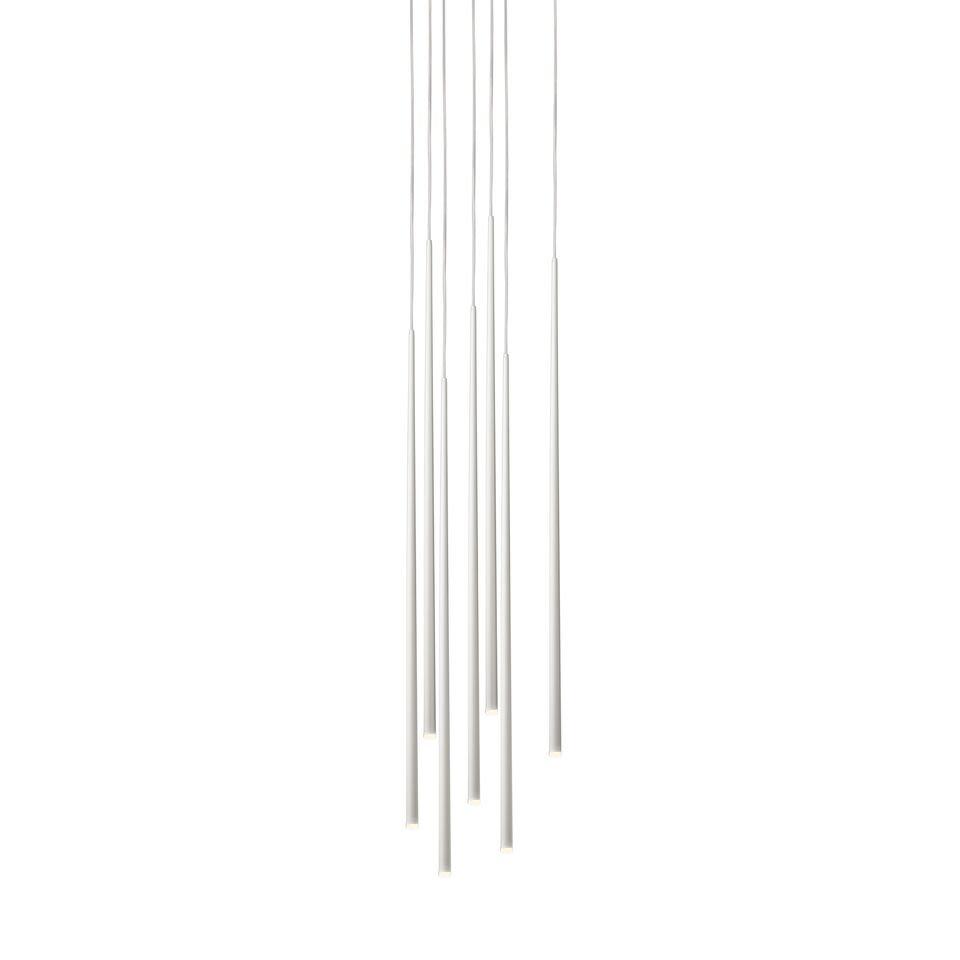 White lacquer fiber,Vibia,Pendant Lights