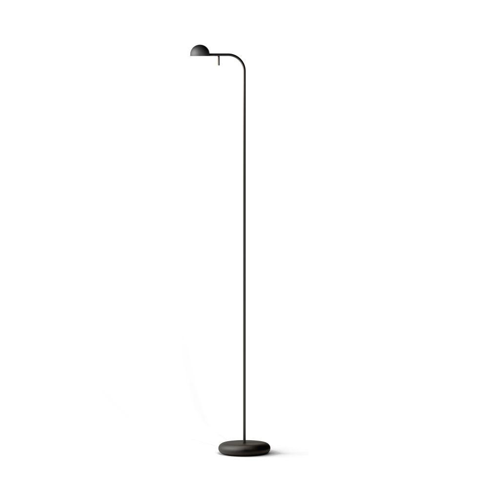 Matt Black Lacquer,Vibia,Floor Lamps,lamp,light fixture,lighting,line,street light