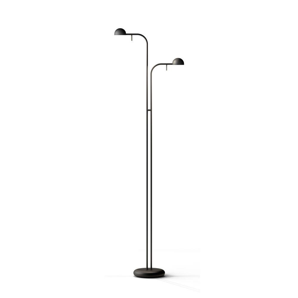 Matt Black Lacquer,Vibia,Floor Lamps,lamp,light fixture,lighting,microphone stand,street light