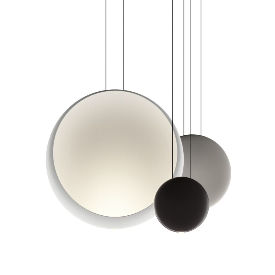 Matt light-grey lacquer,Vibia,Pendant Lights,ceiling,ceiling fixture,product
