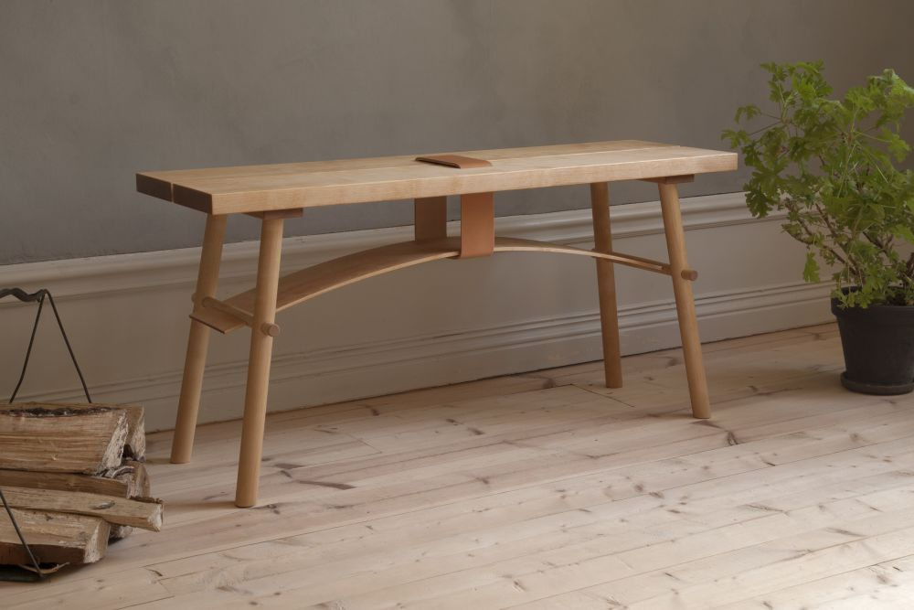 Spring,LITH LITH LUNDIN,Benches,desk,furniture,outdoor furniture,outdoor table,table,wood