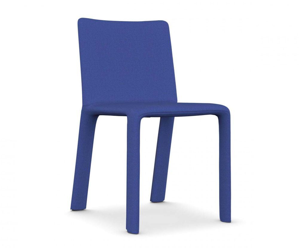 A7244 - Field 762 blue,Kristalia,Seating,blue,chair,cobalt blue,electric blue,furniture,outdoor furniture,plastic