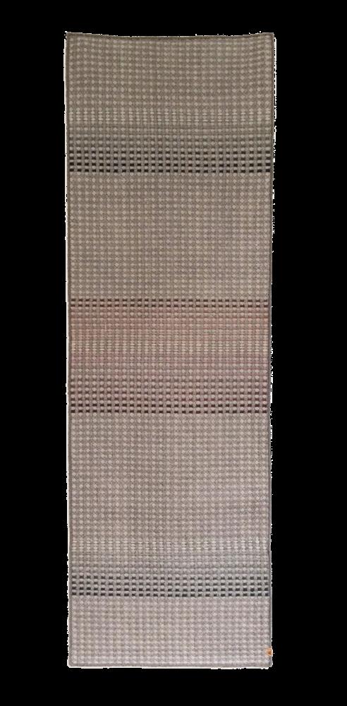 KALAM - hand woven grey runner by WAFFLE DESIGN