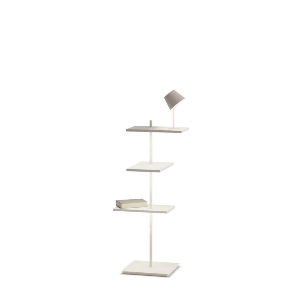 Matt Chocolate Lacquer,Vibia,Floor Lamps,beige,furniture,shelf,shelving