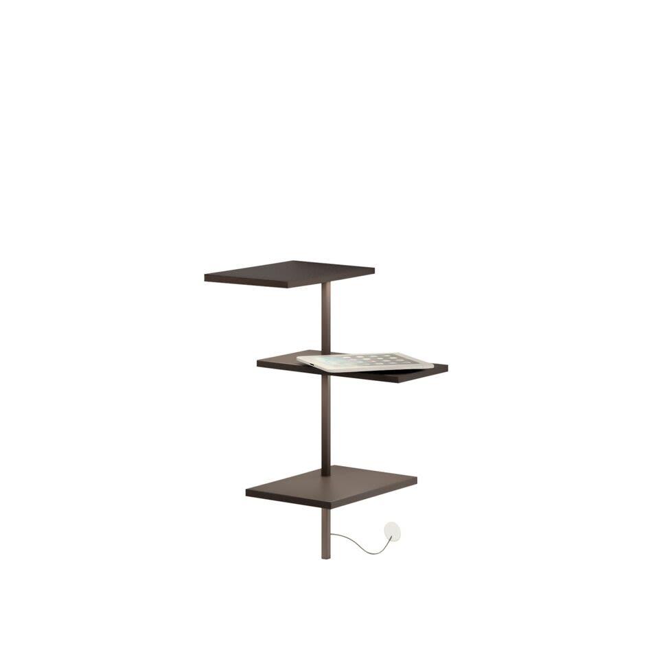 Matt chocolate lacquer,Vibia,Table Lamps,beige,furniture,shelf,table