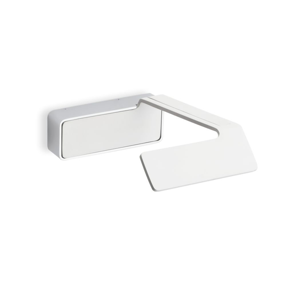 Matt White Lacquer and Chrome,Vibia,Wall Lights,table