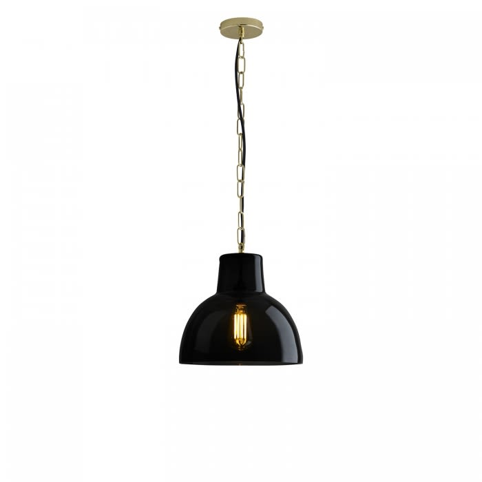 Clear & Brass, Small,Davey Lighting,Pendant Lights,ceiling,ceiling fixture,lamp,light fixture,lighting