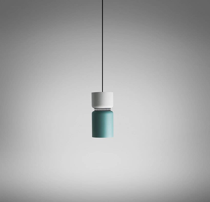 Grey,Grey,LED,B.LUX,Pendant Lights,ceiling,ceiling fixture,light,light fixture,lighting,turquoise