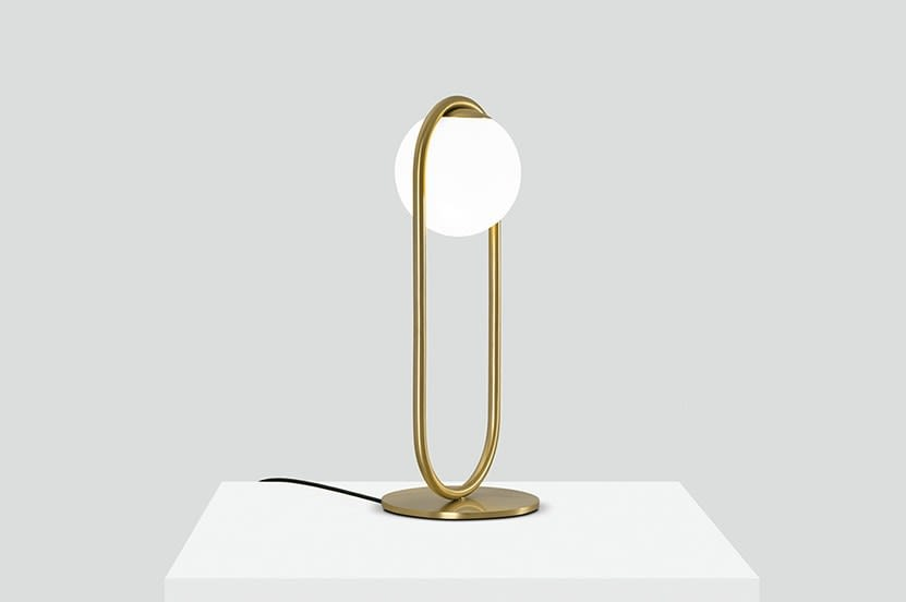 Matte Brass,B.LUX,Table Lamps,brass,lamp,light fixture,lighting,table