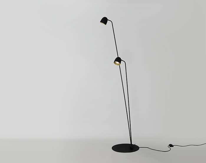 Black-Copper,B.LUX,Floor Lamps,lamp,light fixture,lighting,microphone,microphone stand