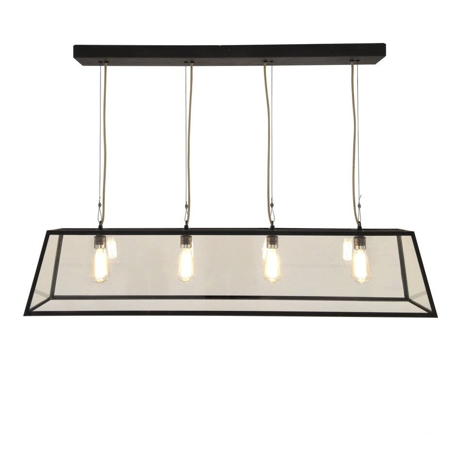 Weathered Brass,Davey Lighting,Pendant Lights,ceiling fixture,lighting,rectangle,table