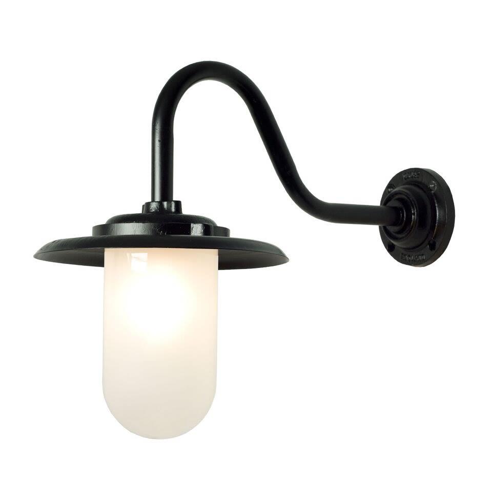 Exterior Bracket Light, 100W, Swan Neck 7677 by Davey Lighting