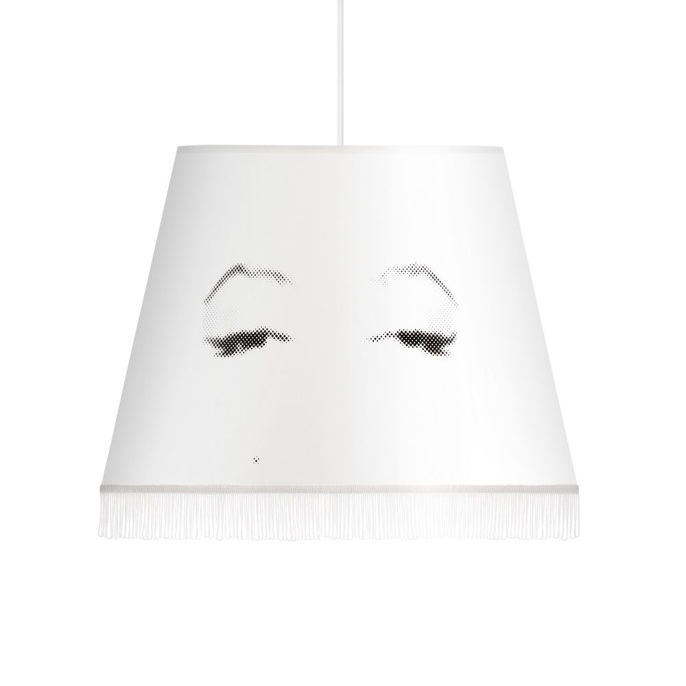 Eye Doll Small Pendant Lampshade Audrey,Mineheart,Pendant Lights,ceiling,white