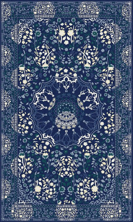 Midnight Moods Rug  by Mineheart