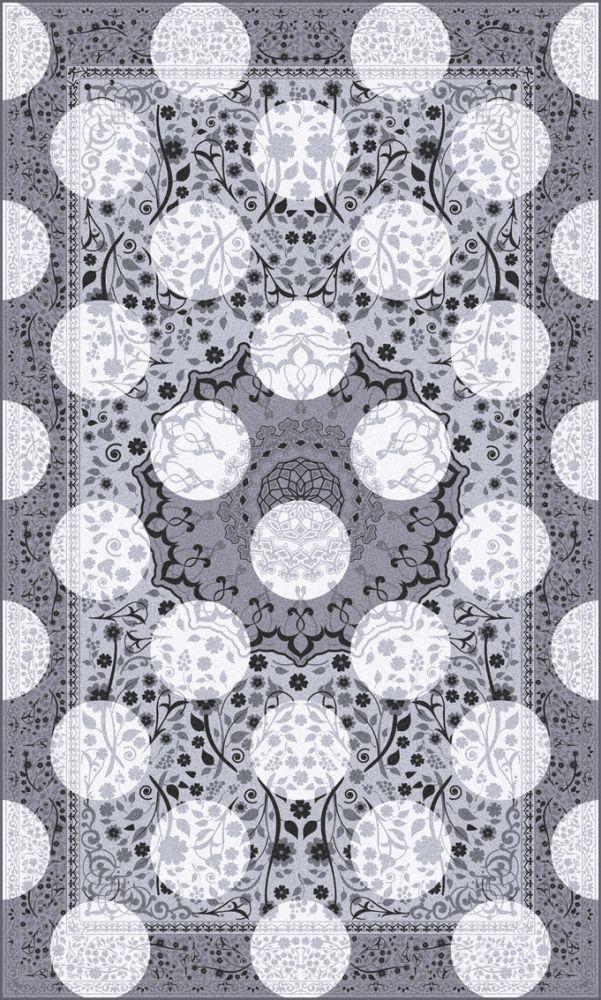 Monochrome Magic Rug by Mineheart