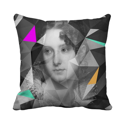 Lady Grey Cushion,Mineheart,Cushions,cushion,design,furniture,home accessories,linens,pattern,pillow,textile,throw pillow