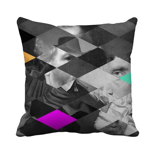 Lords and Masters Cushion,Mineheart,Cushions,cushion,design,furniture,linens,pattern,pillow,rectangle,textile,throw pillow,triangle