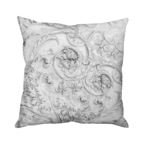 Stone Heart Grey Cushion  by Mineheart