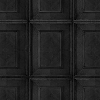 Almost White Dutch Inlay Panelling Wallpaper,Mineheart,Wallpapers,black,brown,design,floor,line,pattern,tile