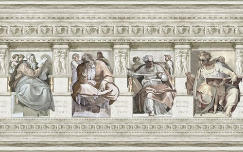 Fresco Wallpaper Mural,Mineheart,Wallpapers,ancient history,architecture,art,classical architecture,history,relief,stock photography