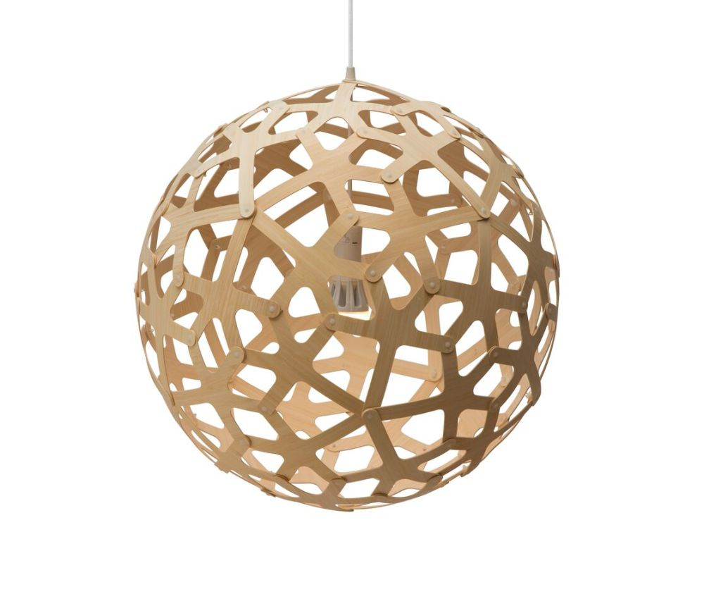 White 2 Sides, 160,David Trubridge,Pendant Lights,ceiling,ceiling fixture,holiday ornament,lamp,lampshade,light fixture,lighting,lighting accessory,sphere