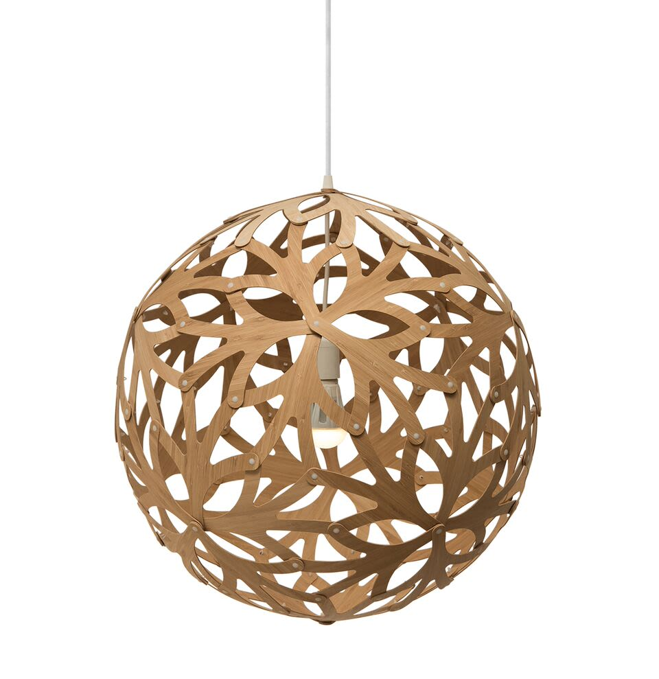 Natural, 40cm,David Trubridge,Pendant Lights,ceiling,ceiling fixture,holiday ornament,lamp,lampshade,light fixture,lighting,lighting accessory