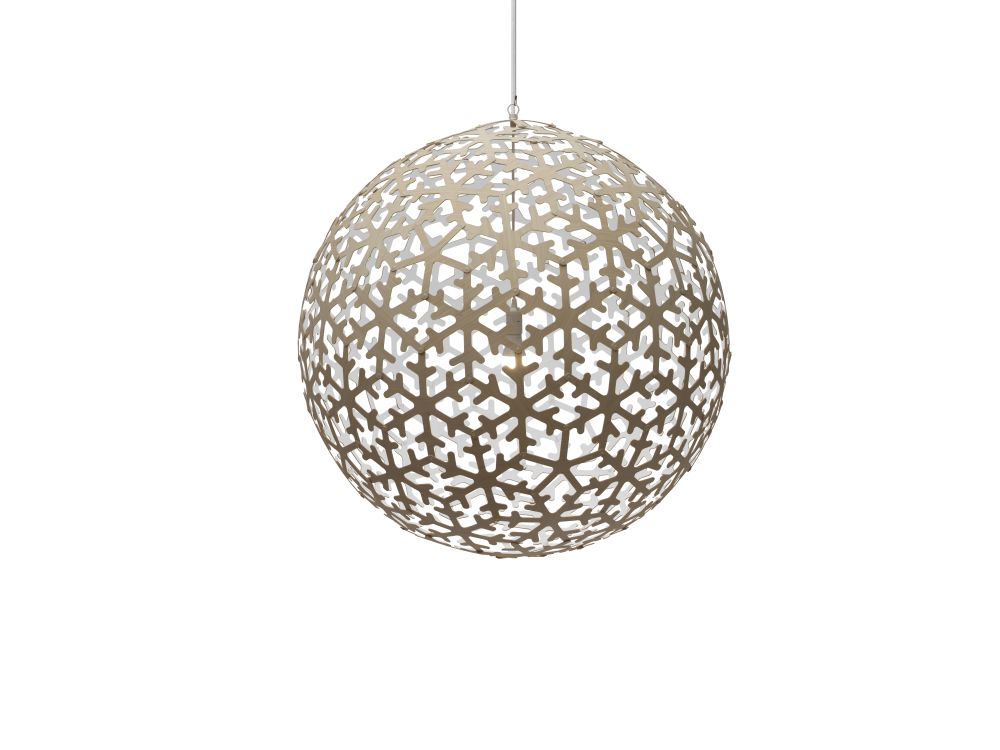 Natural, Small,David Trubridge,Pendant Lights,ceiling fixture,holiday ornament,light fixture,lighting,lighting accessory,ornament,sphere