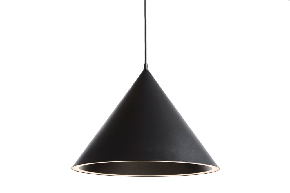 Black,WOUD,Pendant Lights,ceiling,ceiling fixture,cone,lamp,lampshade,light fixture,lighting,lighting accessory
