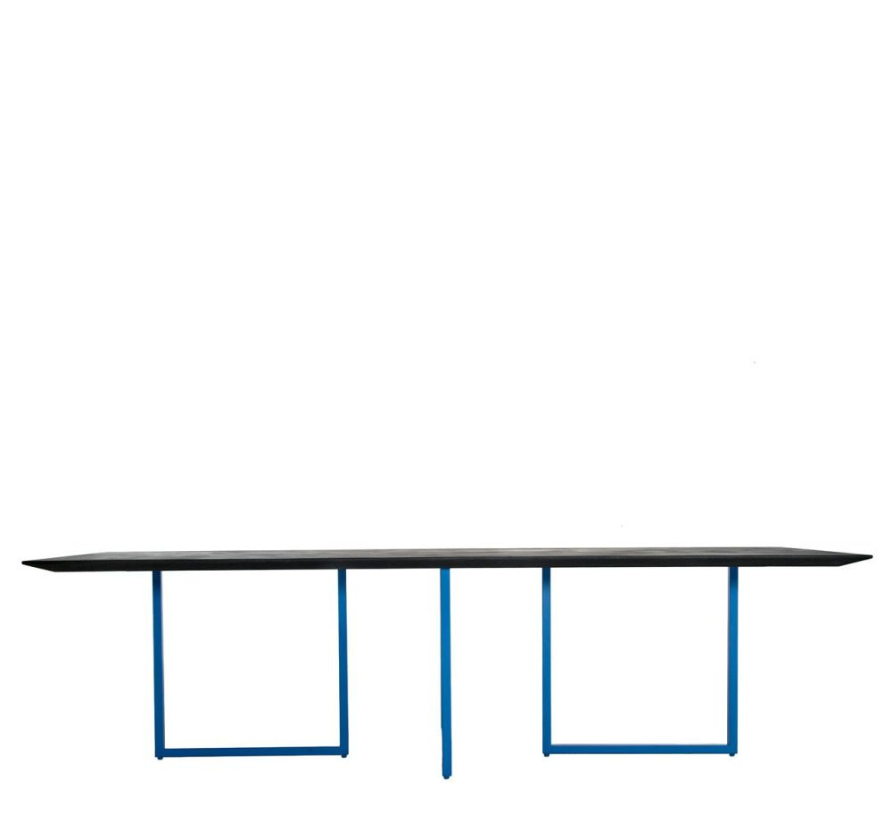 Black, Cement, 210,Driade,Office Tables & Desks,furniture,line,rectangle,table