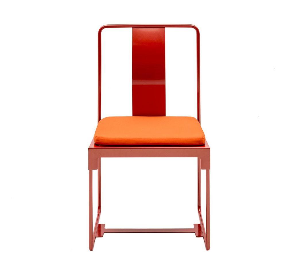 Orange,Driade,Outdoor Furniture,chair,furniture,line,orange