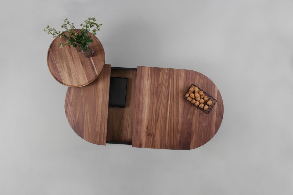 Oak & Black,WOODENDOT,Coffee & Side Tables,wood