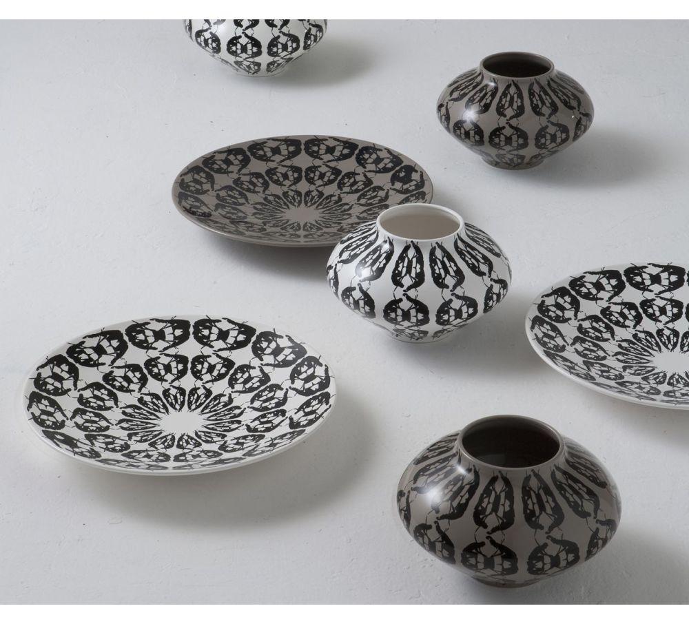 White,Driade,Vases,ceramic,earthenware,porcelain,tableware