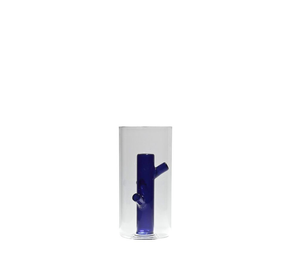 Root Blue Medium Vase by Driade