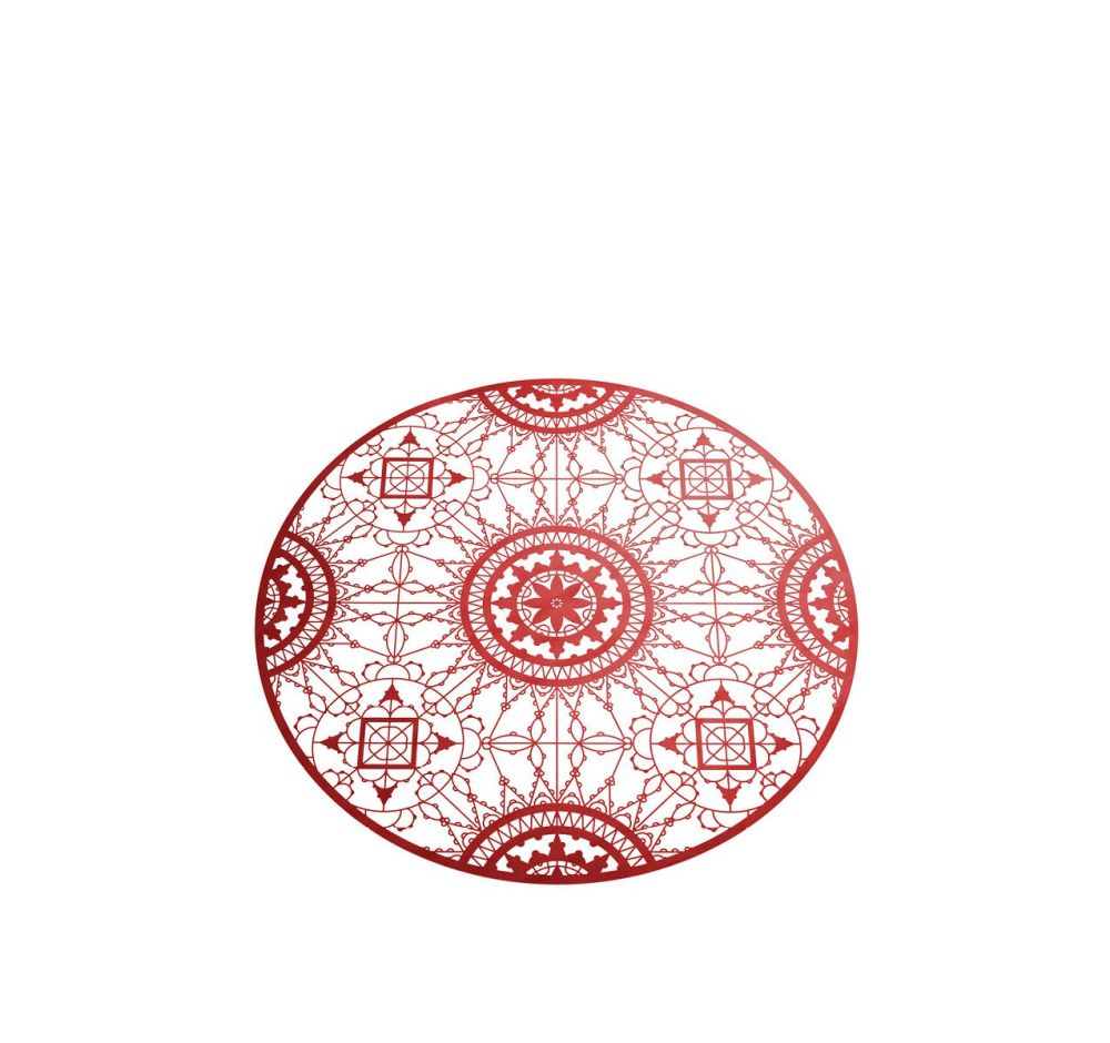 Italic Lace Round Placemat by Driade