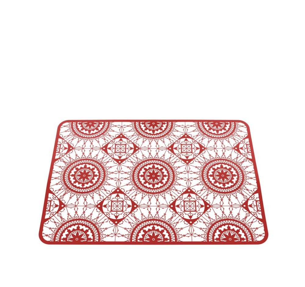Red,Driade,Tablecloths & Accessories,design,pattern,red,serveware