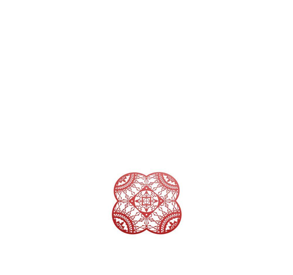 Italic Lace Petal Coaster - Set of 4 by Driade