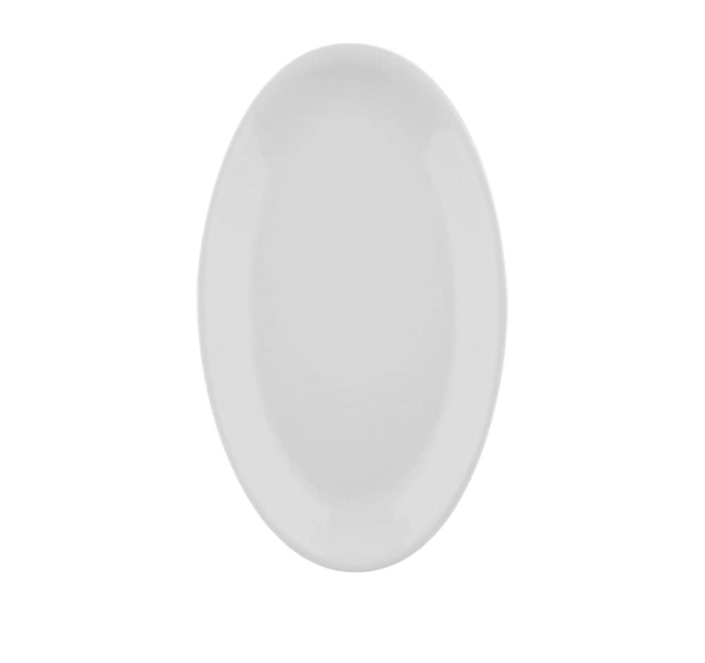 The White Snow - Oval Serving Plate by Driade
