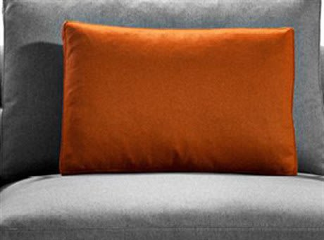 Cairo - Bianco 01,Driade,Cushions,bedding,comfort,couch,cushion,furniture,linens,orange,pillow,room,textile,throw pillow