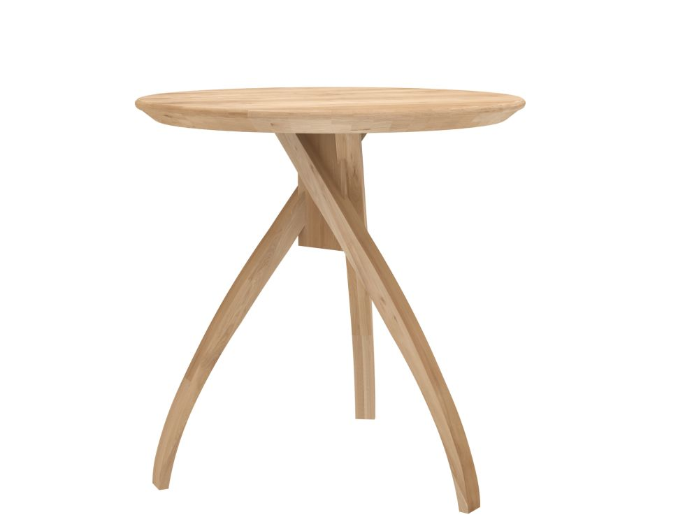 46 x 46 x 46,Ethnicraft,Coffee & Side Tables,coffee table,end table,furniture,outdoor table,stool,table,wood