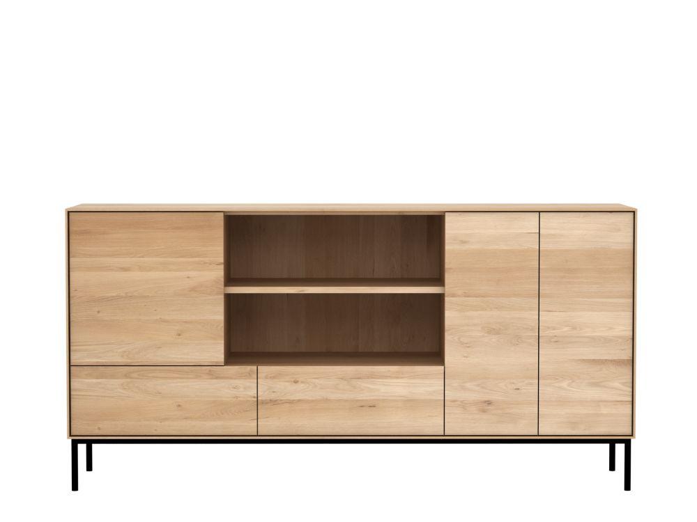 Oak,Ethnicraft,Cabinets & Sideboards,cupboard,furniture,shelf,shelving,sideboard