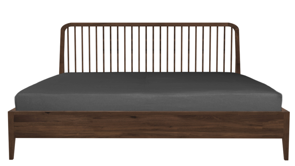 Spindle bed - Queen Size by Ethnicraft